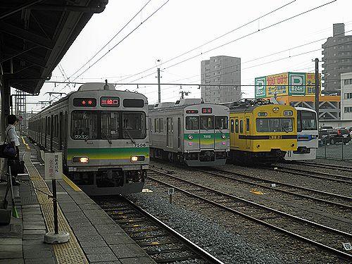 秩父鉄道熊谷駅構内(2012年9月30日)