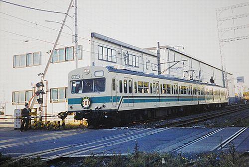 南武線支線(浜川崎線)用101系さよなら運転(2003年12月14日・鶴見線大川駅)1