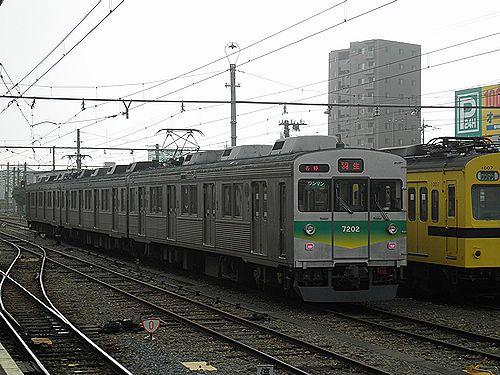 秩父鉄道デハ7000系第2編成(2012年9月30日・熊谷駅)