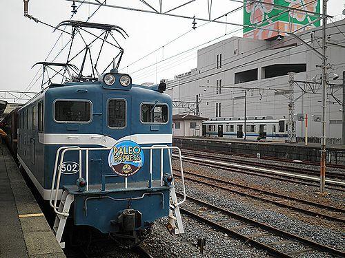秩父鉄道「ELパレオエクスプレス」(2012年9月30日・寄居駅)