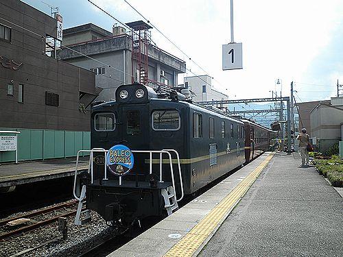 秩父鉄道「ELパレオエクスプレス」(2012年9月30日・御花畑駅)
