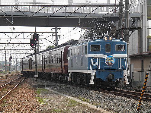 秩父鉄道「ELパレオエクスプレス」(2012年9月30日・武川駅)