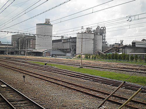秩父鉄道・武州原谷駅(貨物専用・2012年9月30日)2