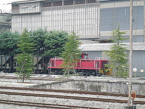 秩父鉄道・武州原谷駅(貨物専用・2012年9月30日)4