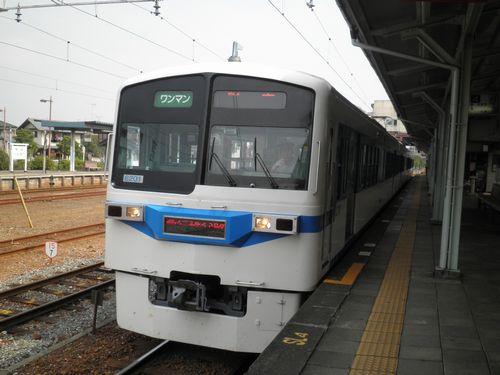 秩父鉄道6000系(2012年9月30日・寄居駅)