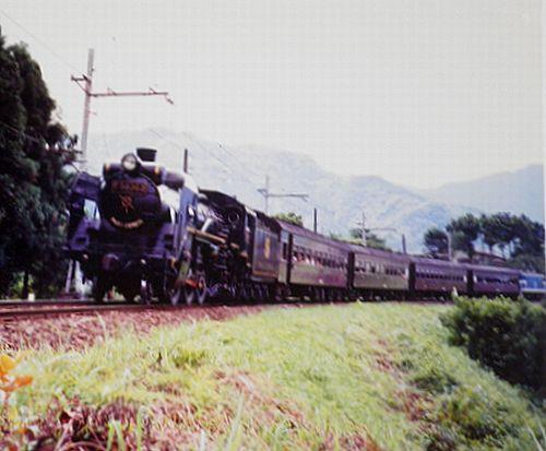 秩父鉄道「パレオエクスプレス」(1989年9月・武州日野~白久駅)