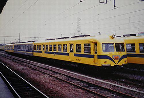 秩父鉄道300系急行「秩父路」(1989年9月・熊谷駅)