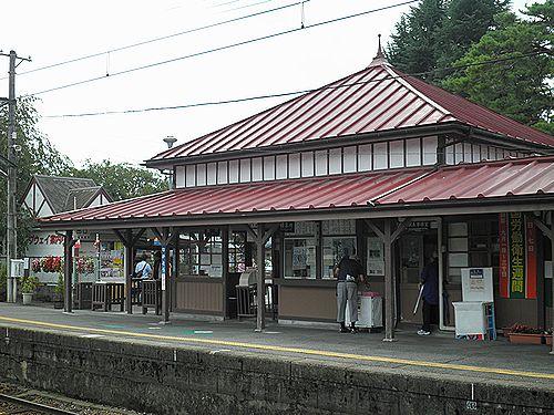 秩父鉄道長瀞駅(2012年9月30日)