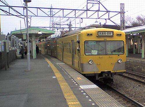 西武鉄道101系(2009年2月15日・新小金井駅)