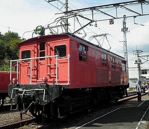 西武鉄道E61(2012年9月30日・横瀬車両基地)