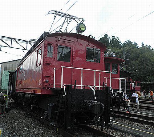 西武鉄道E43(2012年9月30日・横瀬車両基地)
