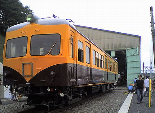 西武鉄道モハ505(2009年10月4日・横瀬車両基地)