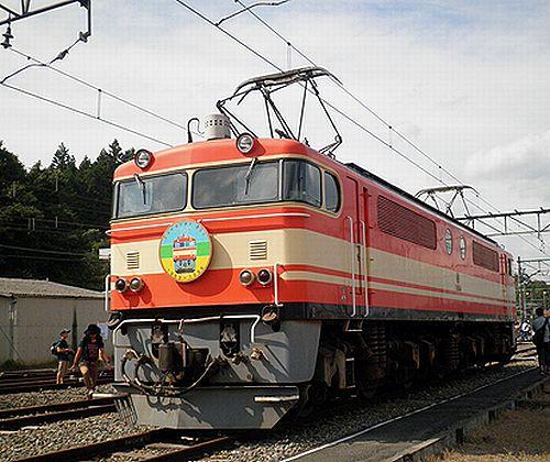 西武鉄道E854号機(2012年9月30日・横瀬車両基地)
