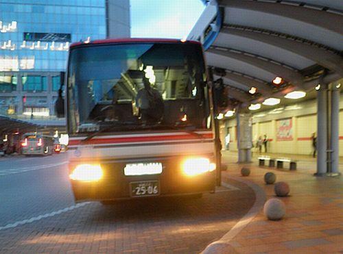 会津バス・会津若松~郡山線(2012年10月6日)