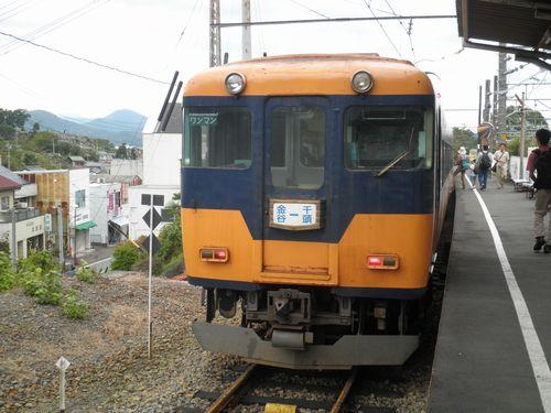 大井川鐵道16000系(2012年10月7日・金谷駅)
