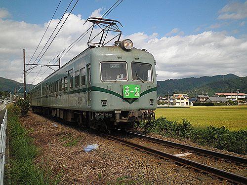 大井川鐵道モハ21000形(2012年10月7日・五和~神尾間)