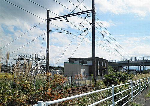 大井川鐵道五和変電所(2012年10月7日)