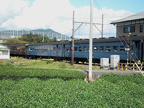 大井川鐵道SL急行101列車「かわね路1号」(2012年10月7日・五和~神尾間)