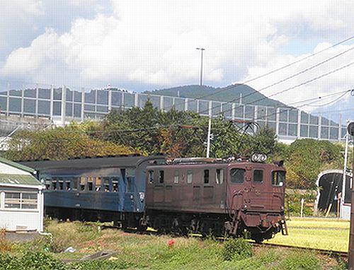 大井川鐵道ED501号機(いぶき501)(2012年10月7日・五和~神尾間)1