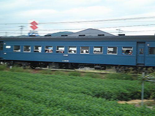大井川鐵道スハフ42 184(2012年10月7日・五和~神尾間)