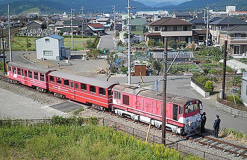 大井川鐵道新金谷駅構外側線体験乗車(2012年10月7日)1