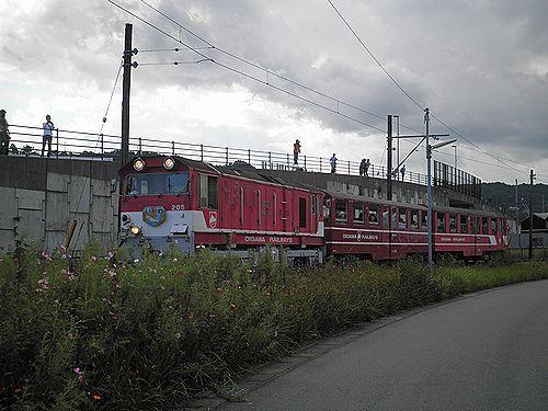 大井川鐵道新金谷駅構外側線体験乗車(2012年10月7日)2