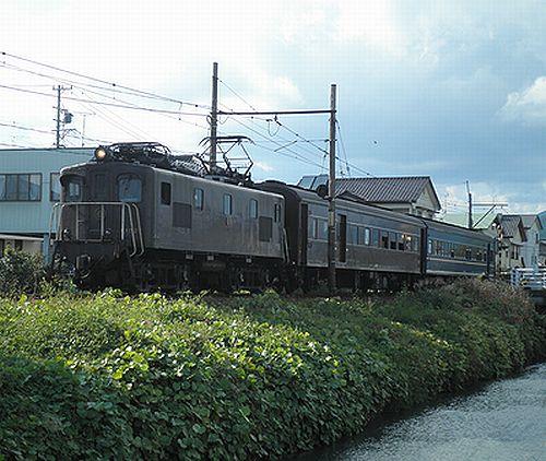 大井川鐵道1004列車「EL急行」(2012年10月7日・新金谷~代官町間)