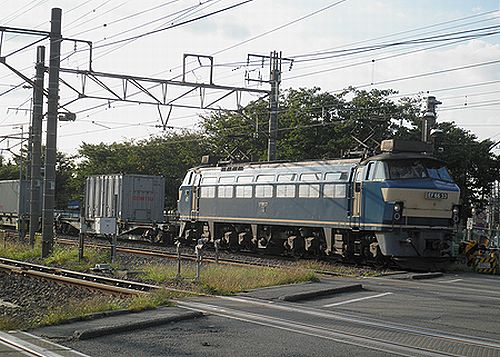 EF66 33(吹)(2012年10月12日・川崎新町)