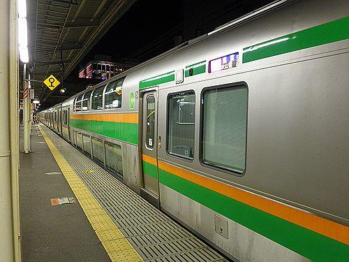 サロE233-3015(東チタ・NT13編成)(2012年10月7日・戸塚駅)