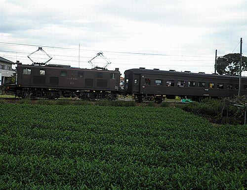 大井川鐵道ED501号機(いぶき501)(2012年10月7日・五和~神尾間)2