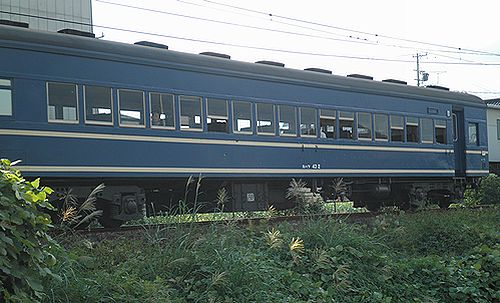 大井川鐵道スハフ43 2(2012年10月7日・新金谷~代官町間)