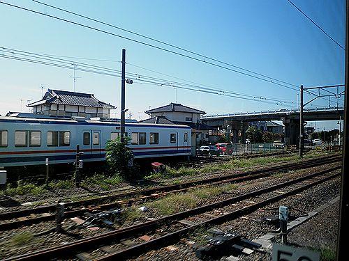 関東鉄道常総線快速7064列車(2012年10月8日・下館駅)