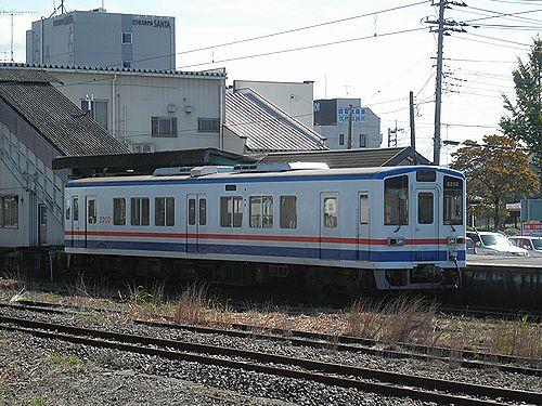 関東鉄道常総線キハ2202(2012年10月8日・下館駅)