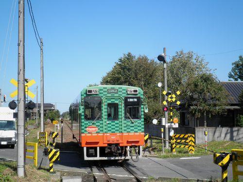 真岡鐵道モオカ14形(2012年10月8日・ひぐち駅)