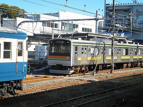 宮ハエ205系3000番代(拝島駅・2012年11月10日)