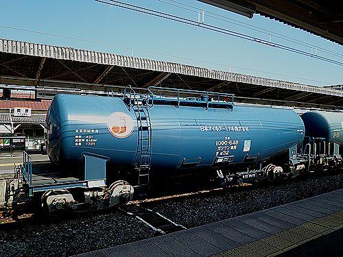 タキ1000‐648(2011年2月21日・高崎線岡部駅)