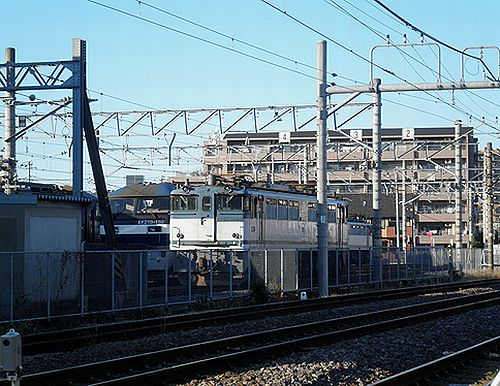 JR貨物千葉機関区(2012年11月18日)