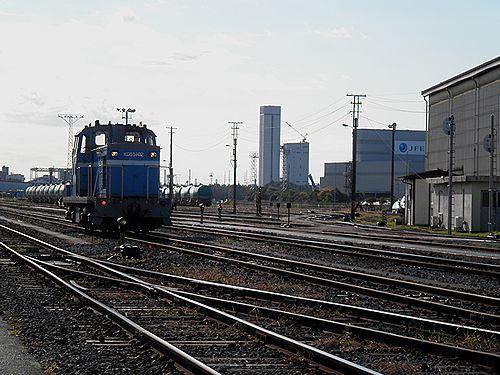 京葉臨海鉄道・千葉貨物駅構内(2012年11月18日)