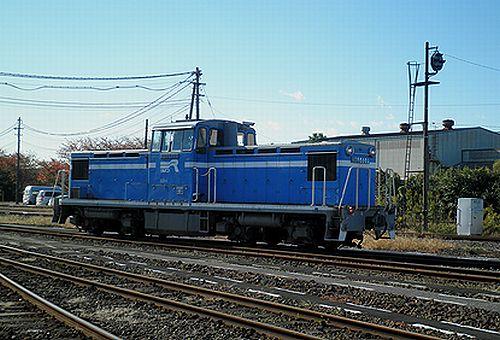 京葉臨海鉄道KD55 103(千葉貨物駅・2012年11月18日)