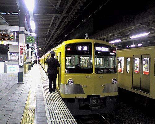 西武豊島線折返し列車(101N系4連・2008年5月31日・練馬駅)