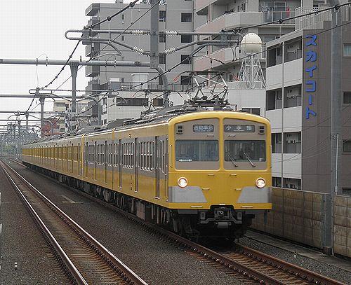 西武101N系・271F+1309F(2012年4月24日・中村橋)