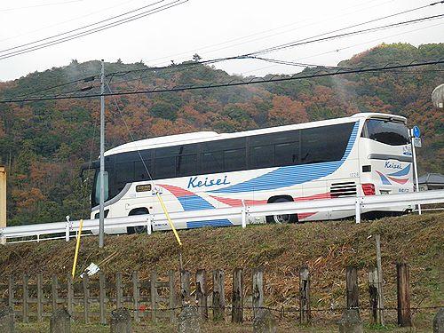 京成高速バス東京~安房鴨川線(上総松丘・2012年12月1日)