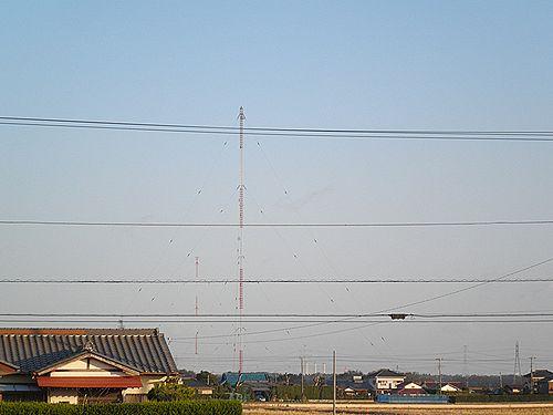 ニッポン放送木更津送信所(千葉県木更津市椿・2012年12月8日)