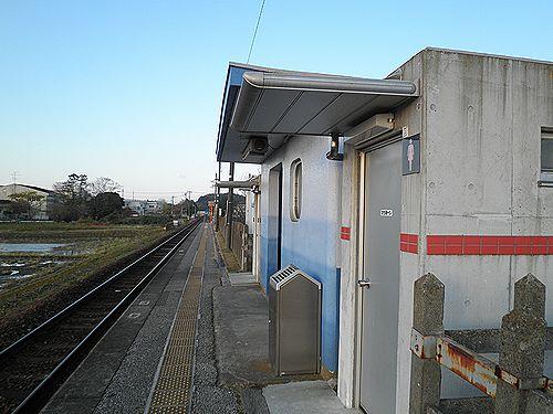 久留里線東清川駅(2012年12月8日)
