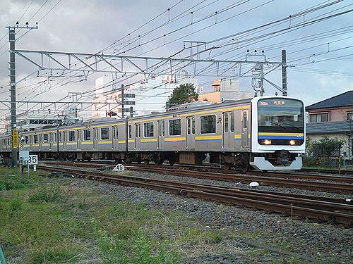 内房線209系(2012年12月8日・木更津駅構内)1