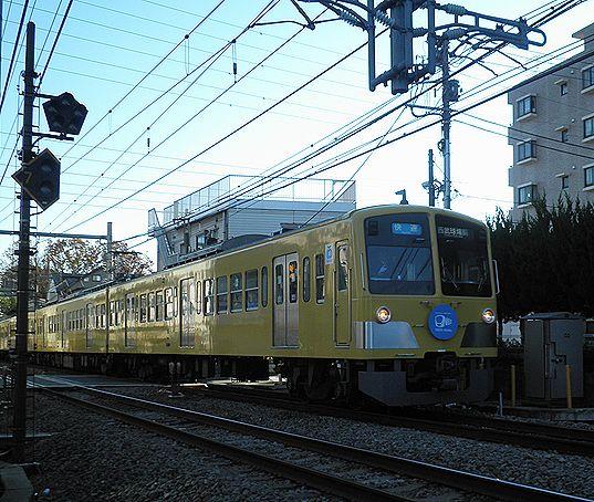 西武鉄道301系(1309F)さよなら運転(2012年12月9日・大泉学園~保谷間)