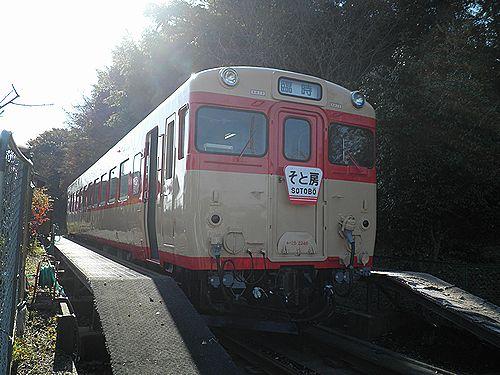 いすみ鉄道キハ28 2346(2012年12月8日・大多喜駅)1