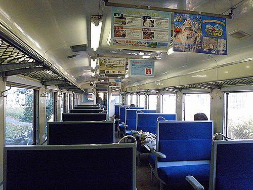 いすみ鉄道キハ28 2346車内(2012年12月8日・大多喜駅)