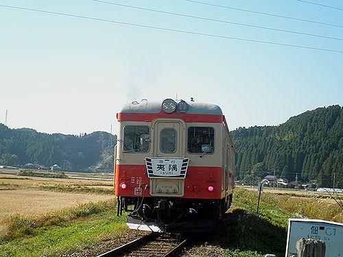 いすみ鉄道キハ52 125(2012年12月8日・西大原~上総東間)4