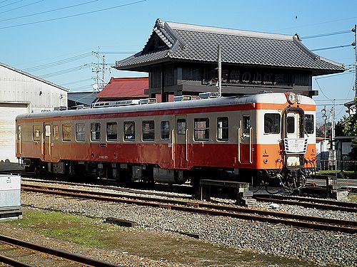 いすみ鉄道キハ52 125(2012年12月8日・大多喜駅)